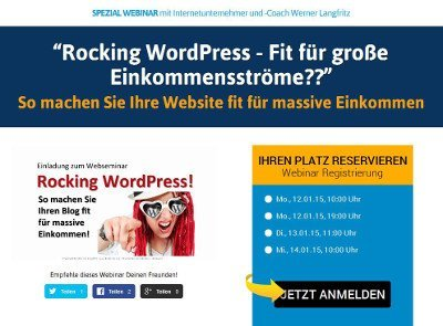 Beispiel OptimizePress