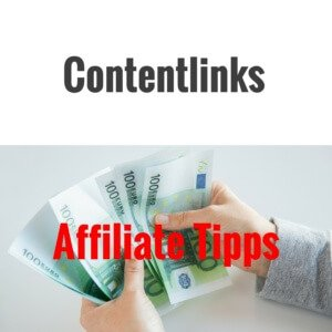 Affiliate Tipps - Contentlinks